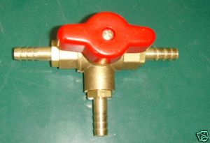 BRASS 3 WAY VALVE