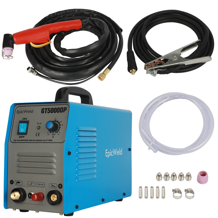 50 Amp Dual Voltage Plasma Cutter W/ Pilot Arc