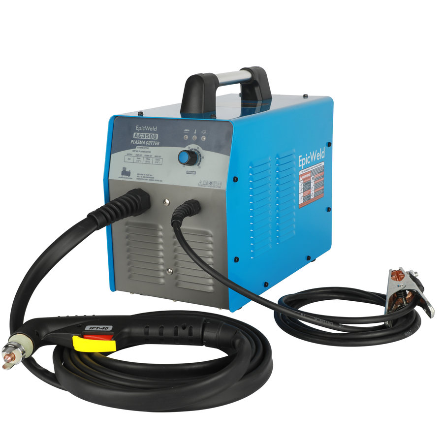 35 Amp Plasma Cutter W/ Built-in Air Compressor