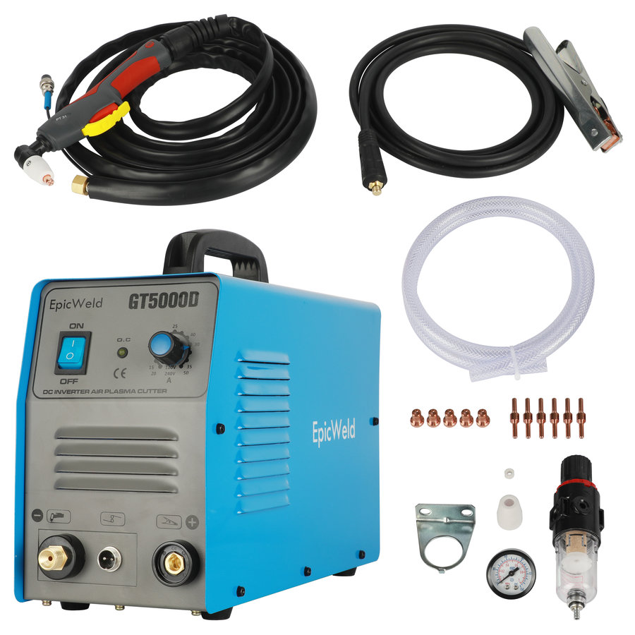 50 Amp Dual Voltage Plasma Cutter